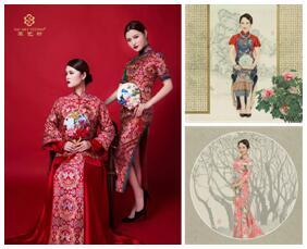 牌,通过对传统服饰的继承和发扬,汲取西方服饰文化的精华,将传统图片