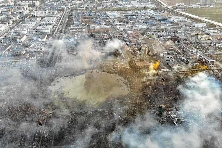 响水爆炸,对澳门大发注册行业影响初步评估